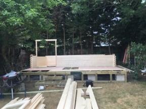 Gijs Log Cabin Installation