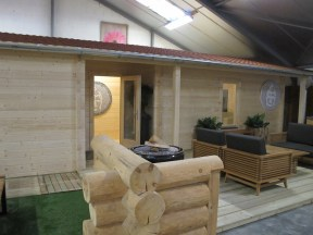 The Slane 70mm Log Cabin