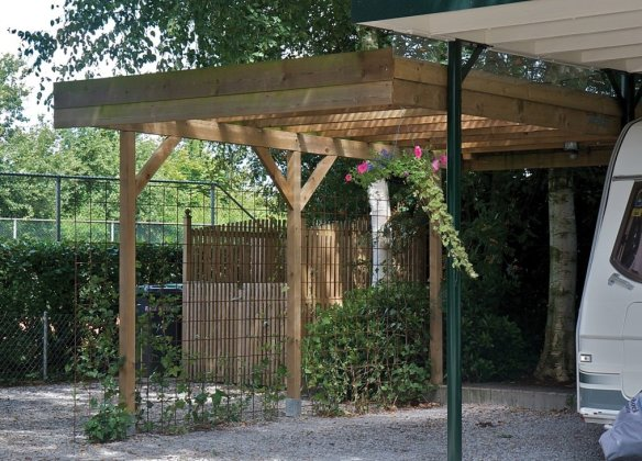 Single lean to carport on special offer