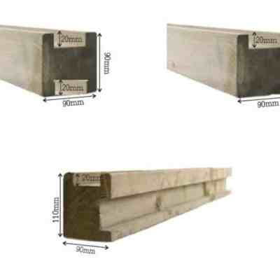 houten palen