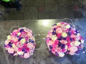 roze hart bloemwerk bloemsierkunstodink-0673