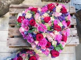 roze hart bloemwerk bloemsierkunstodink-0709