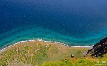 Achadas da Cruz, Kolej linowa z klifów, Kolej linowa na Maderze, Madera, Madeira