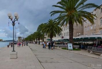 TROGIR - stare miasto, promenada