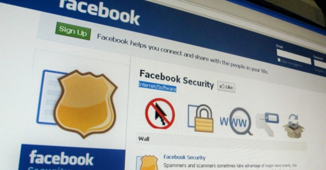 facebook securité