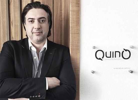 Cherif Mabrouk, CEO de groupe suisse QuinQ Holding