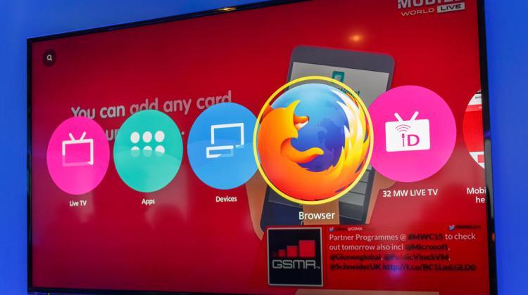 Panasonic 4K Firefox OS TV