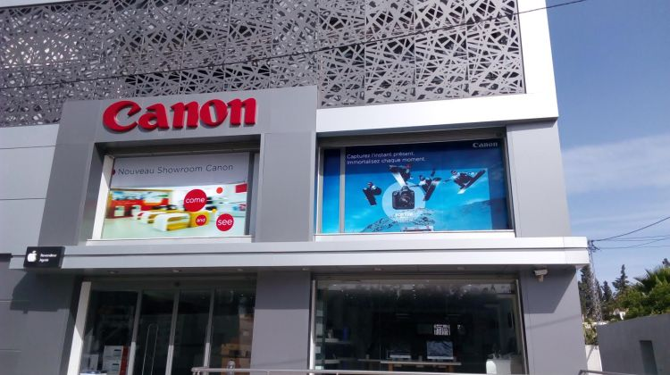 showroom canon
