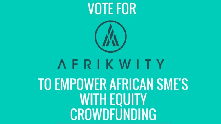FOR Legal fairness for ecrowdfunding in Africa,VOTE FOR AFRIKWITY !