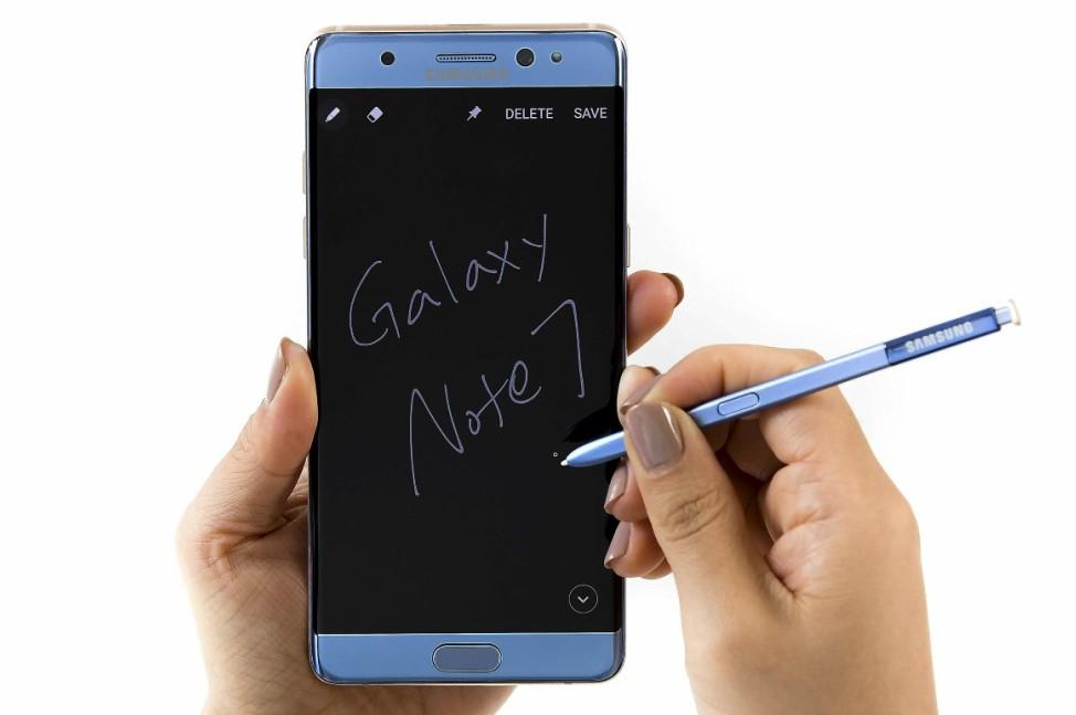 Galaxy Note 7 spen