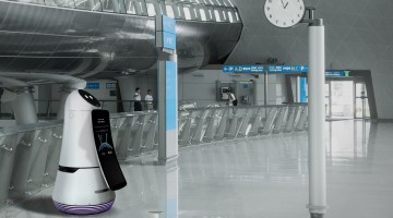 LG Airport Guide Robot 01