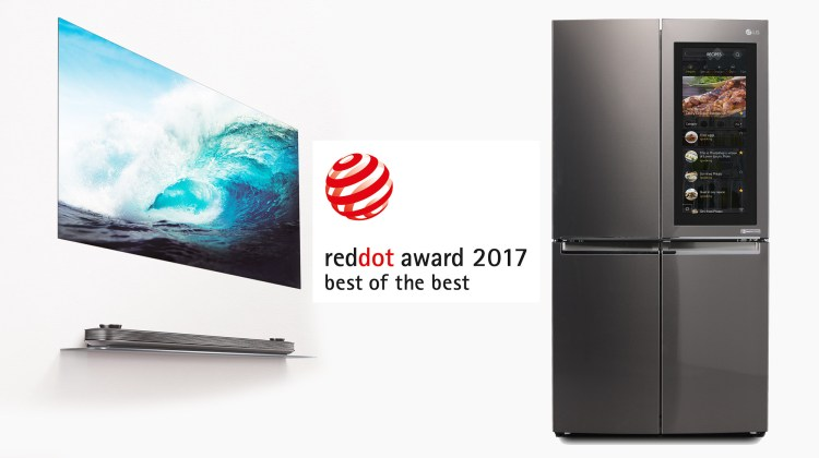 Red Dot _Best of the Best with LG SIGNATURE OLED TV W+INSTAVIEW REF