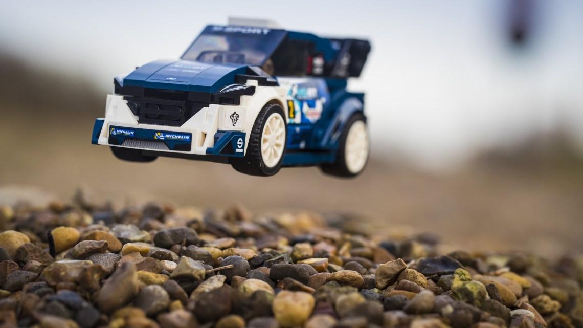 World Championship-Winning M-Sport Ford Fiesta WRC Rally Car Joi