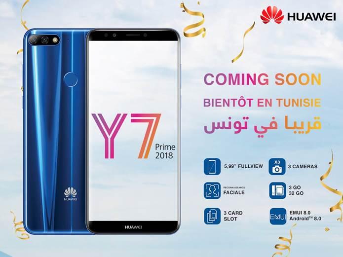 Huawei Y7 Prime 2018 Est Pret Pour La Precommande