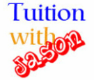 tuitionwithjason logo for math tuition advertisement