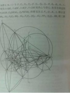 photo ELEMENTARY MATH – PROPERTIES OF CIRCLE – QUESTION FROM EXAM PAPER IN CHINA