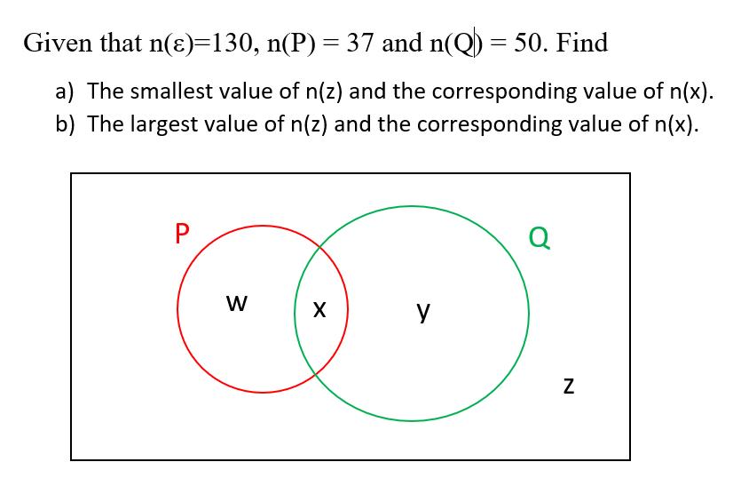 elementary math - set notation