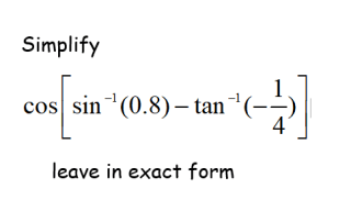 additional math - trigonometry , probably the most challenging question for mid year exam 2019