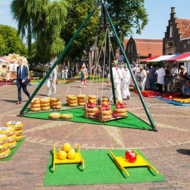 Cheese market Edam holland