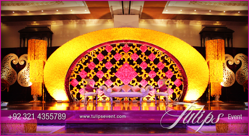 Best affordable wedding stages in pakistan best mehndi stage wedding decoration ideas in pakistan 06 junglespirit Gallery