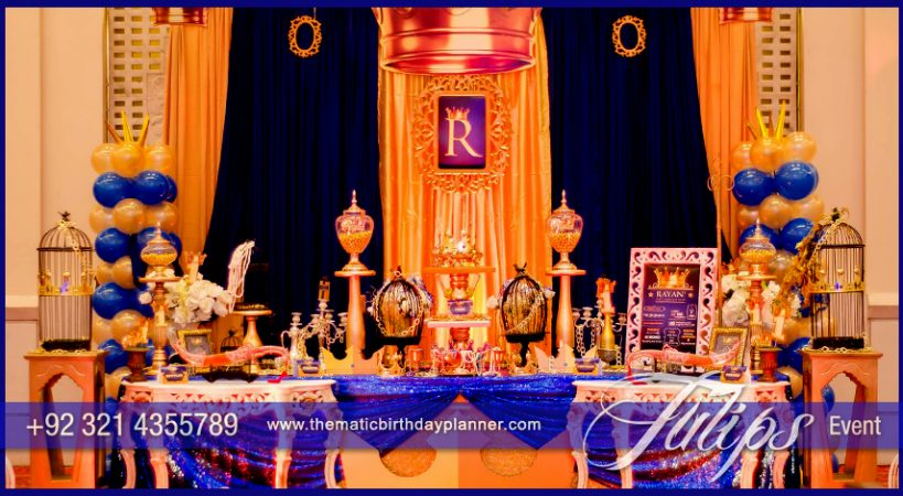 Royal Prince 1st Birthday Party By Tulips Events In Pakistan
