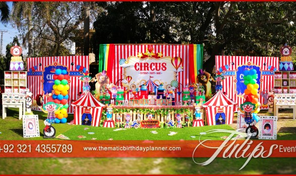 Circus Theme Carnival Party