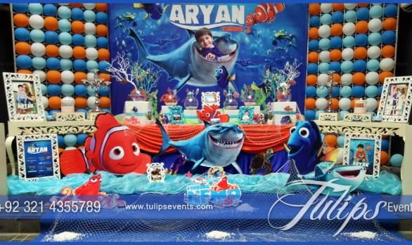Finding Nemo Ocean Party Theme