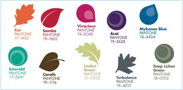 2013 Fall Color Trend Pantone