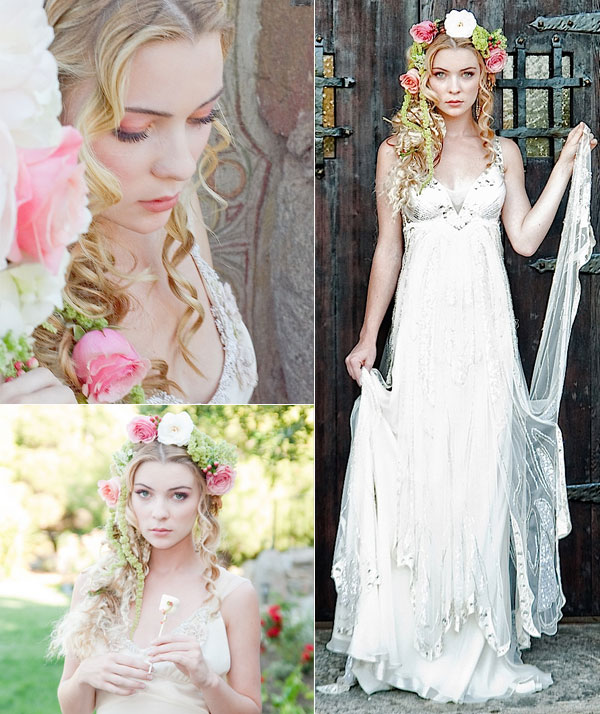 Tangled Inspired Wedding Hairstyles Tulle Amp Chantilly