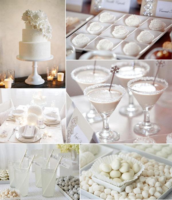 White Wedding Ideas To Sparkle 2014 Tulle Amp Chantilly