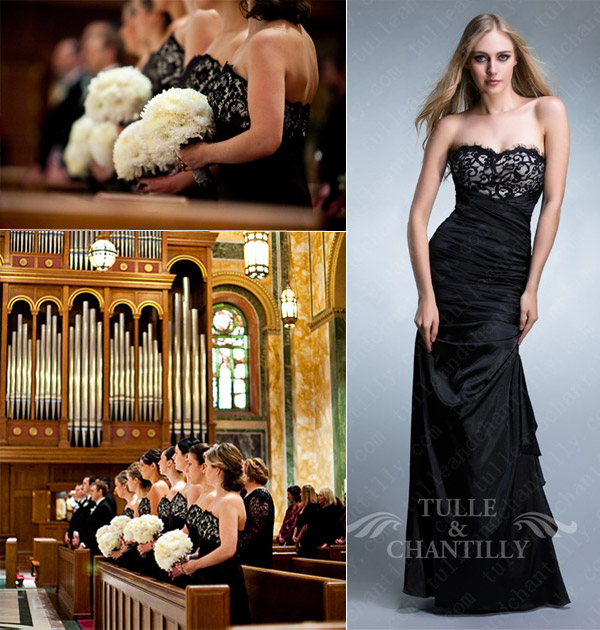 Black Wedding Dresses Tulle Amp Chantilly Wedding Blog