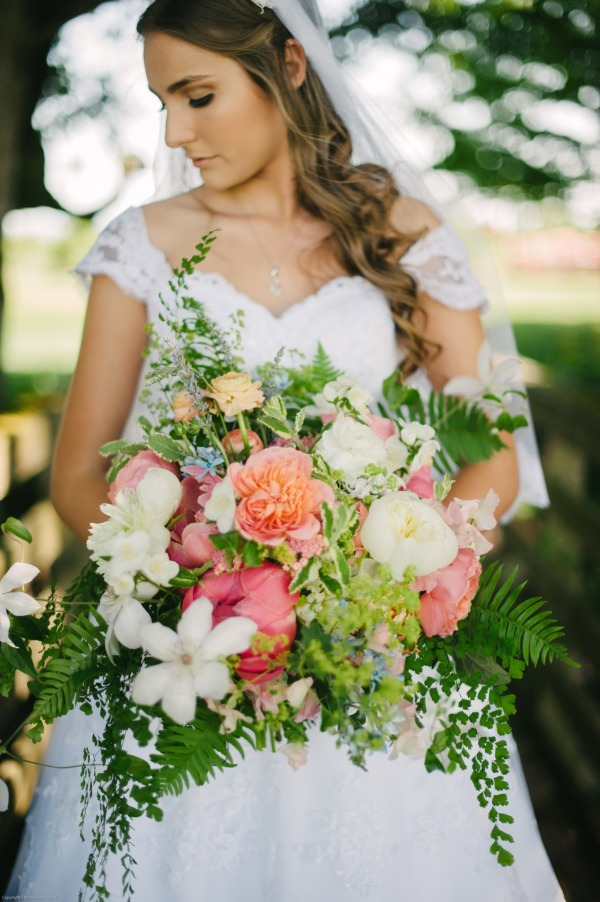 Whimsical Country Wedding Inspiration Cassandra And Eric