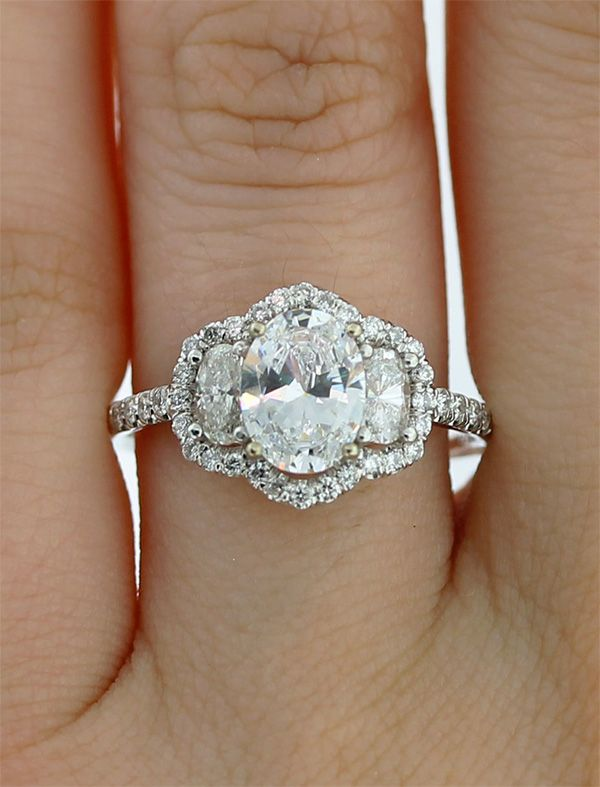 20 Gorgeous Three Stone Engagement Rings You Will Want