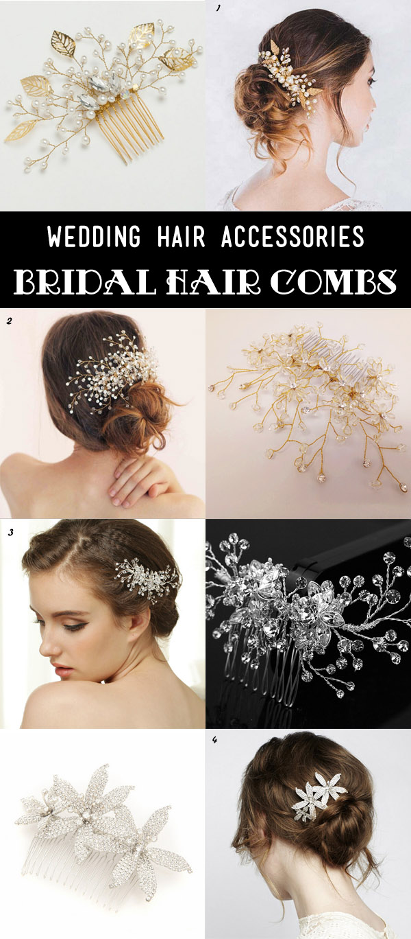 25 most gorgeous bridal hair accessories for every
