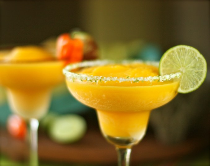 Mango Margarita Cocktail Recipe - Tequila Based Cocktail