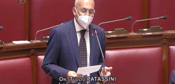 """PATASSINI (Lega): """"ABBIAMO UN SOGNO: DARE UN FORTE SEGNALE A LIVELLO DI SVILUPPO SOCIOECONOMICO"""""""