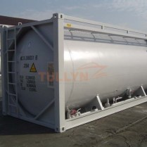 Cement tank container