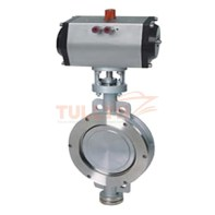 Pneumatic Hard Seal Butterfly Valve