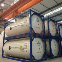 20ft Liquid CO2 T75 cryogenic tank container