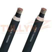 NSGAFOU EPR PCP Flexible Rubber Cable 1.8/3KV