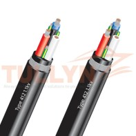 Type 412 Mining Armored Feeder Cable 1.1kv