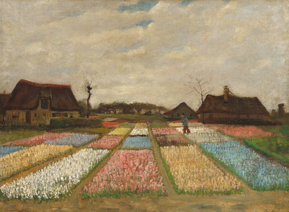 Bollenvelden door Vincent van Gogh