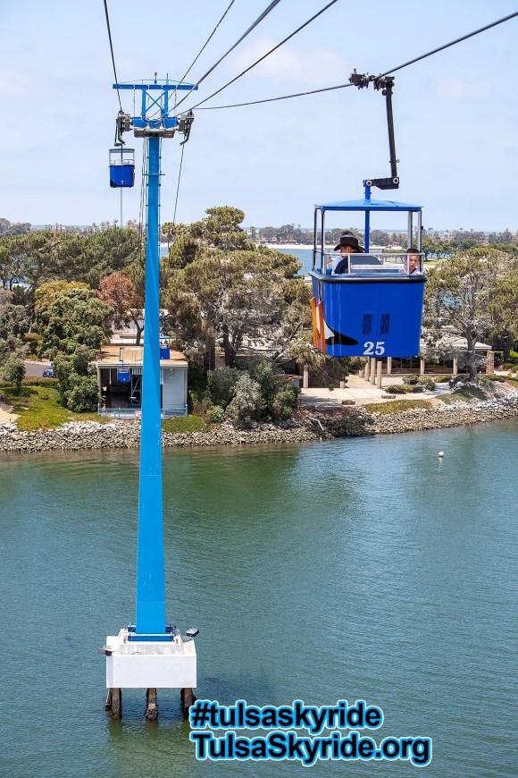 SeaWorld San Diego Von Roll skyride