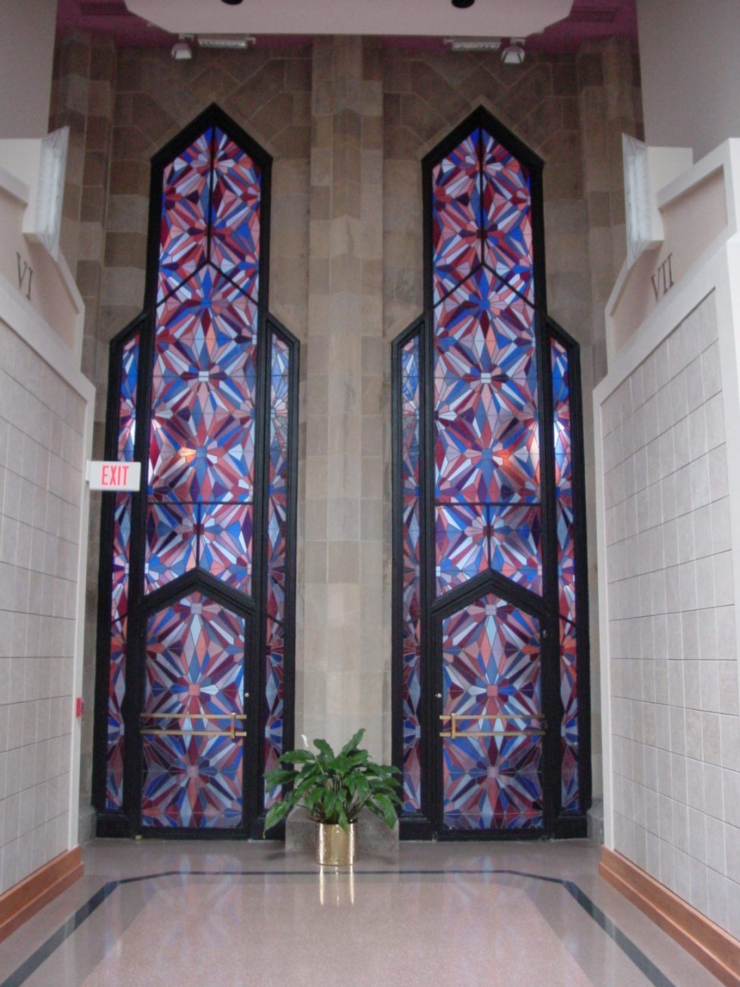 Boston Ave Methodist - Stained Glass