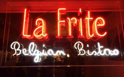 La Frite Belgian Bistro in San Antonio, Texas