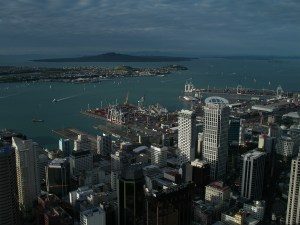 Aerial View of Auckland