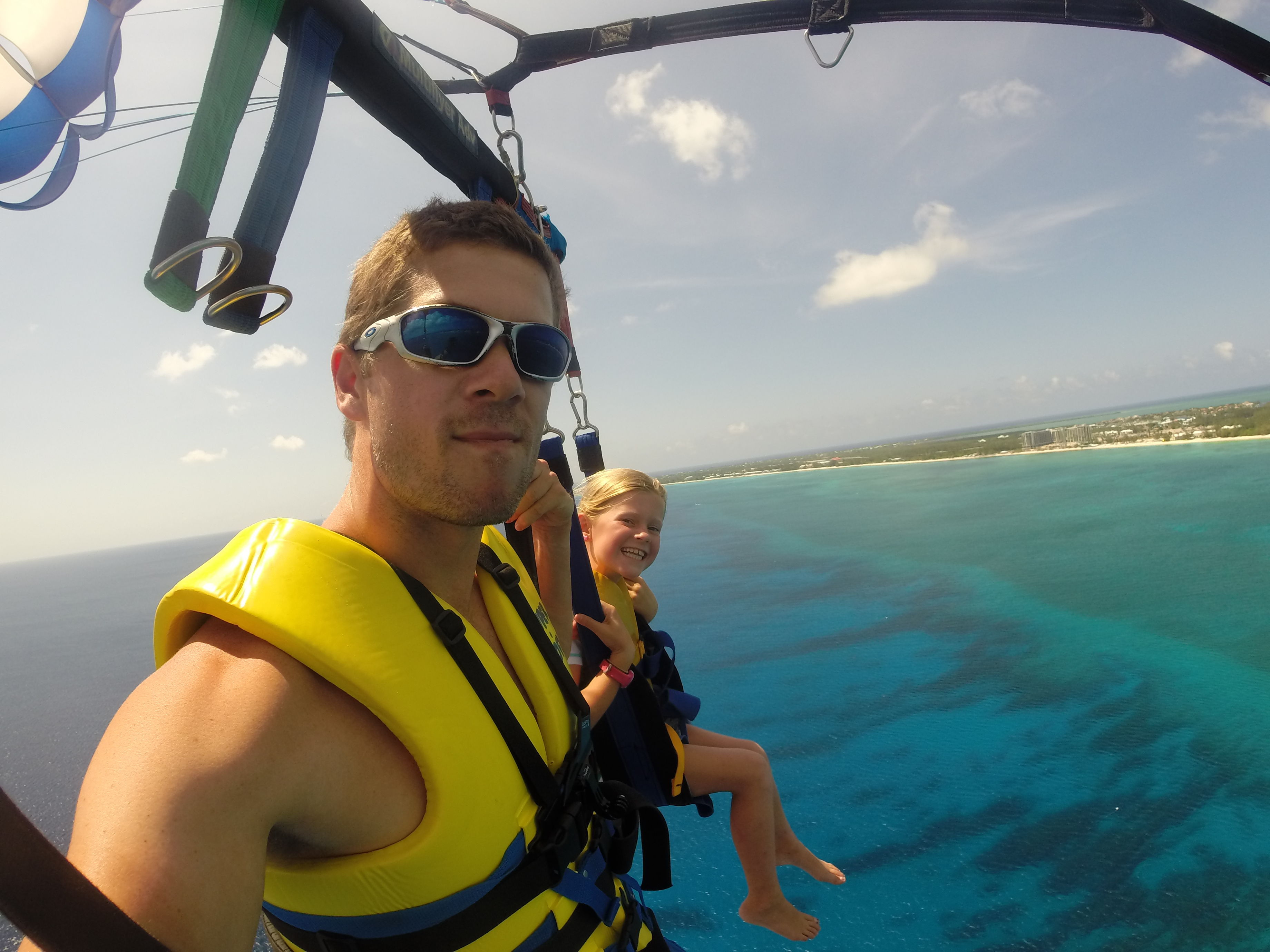 Parasailing in Grand Cayman - Globetrotting Around the World