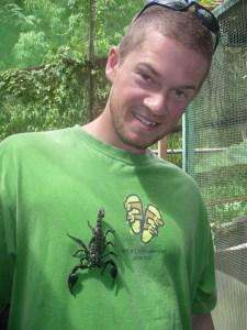 Scorpion at Butterfly Farm Malaysia