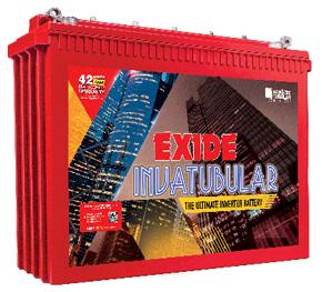 Exide InvaTubular IT500+ 180Ah Battery