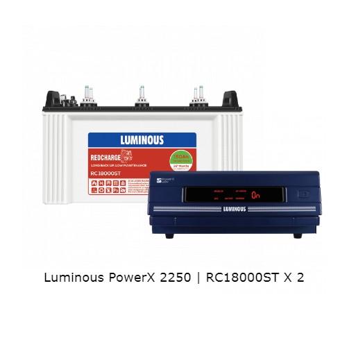 Luminous PowerX 2250 and RC18000ST